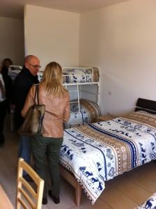 Una camera di Casa Tabanelli