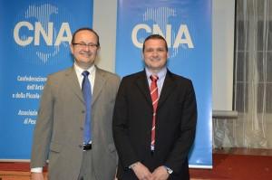 Alberto Barilari e Moreno Bordoni (Cna)