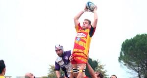 Azione di gioco della Pesaro Rugby