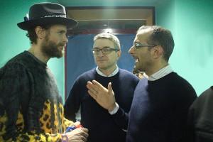 Jovanotti, Luca Pieri e Matteo Ricci