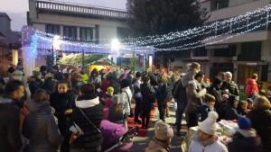 Piazza Matteotti villaggio Babbo Natale