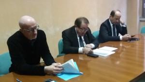 Alberto Drudi con Schiavoni e Varotti