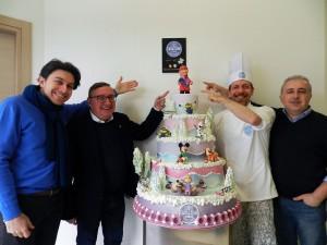 Fabio Cavazzoni, Luciano Cecchini, Matteo Cavazzoni e Alessandro Leonelli