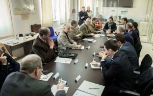 Sala Operativa Integrata della Provincia: riunione protezione civile