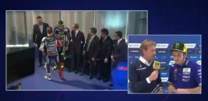 Valentino Rossi a Sky Sport 24