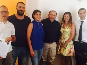 L'organizzazione e conduzione della kermesse