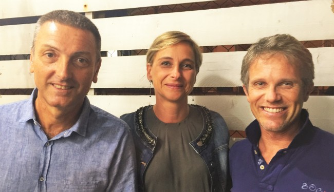 Fano a 5 Stelle: Giovanni Fontana,  Marta Ruggeri e Hadar Omiccioli