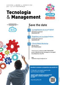 Lezioni libere e condivise su Tecnologia e Management