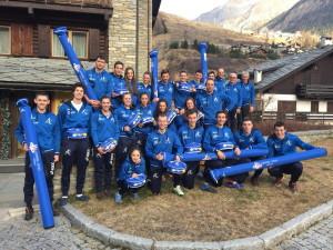 La squadra di Ski Roll