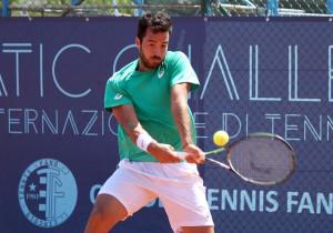 Salvatore Caruso, siciliano classe 1992, ha sconfitto il croato Viktor Galovic con un doppio 6-4
