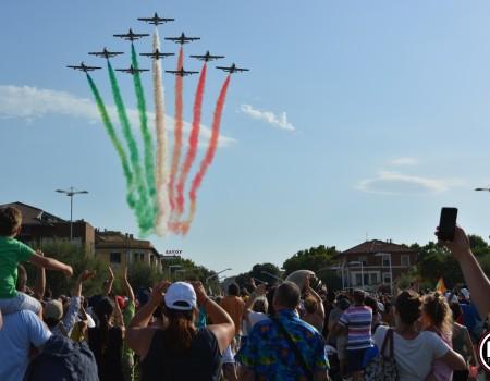 Frecce Tricolori a Pesaro (foto Filippo Baioni) 00008