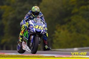 Valentino Rossi a Brno (foto tratta da Fb - Valentino Rossi VR46 Official)