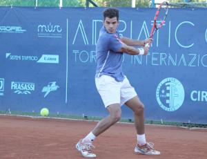 Francisco Bahamonde, 19 anni, è nato a Godoy Cruz, in Argentina, ma è di passaporto italiano. Oggi occupa la posizione n.371 del ranking mondiale Atp