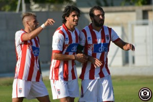 Vis Pesaro-Jesina: Rocco Costantino, Lorenzo Paoli e Alessandro Comi