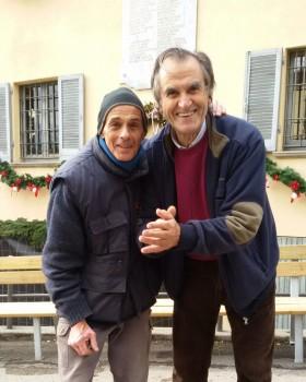 Pierpaolo Diotalevi e Piergiorgio Pietrelli (Candele a Candelara)