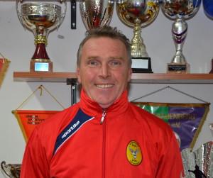 L'allenatore Fabrizio Ruggeri