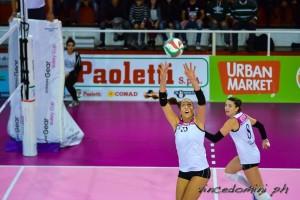 Giulia in palleggio, Bertone prepara la fast (dalla pagina Facebook)