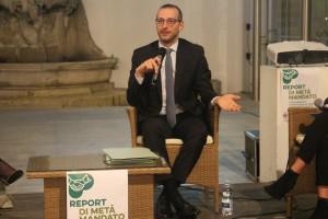 Ricci report di metà mandato al centro Arti visive Pescheria