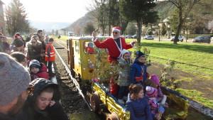 Il trenino di Babbo Natale a Fermignano