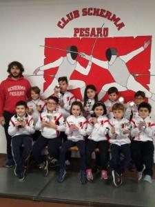 La prima prova plastica del Club Scherma Pesaro