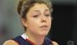 Alice Degradi, l'ottava giocatrice ad accusare un malessere, nel caso preoccupante, durante la trasferta a Olbia (Foto Eleonora Ioele)