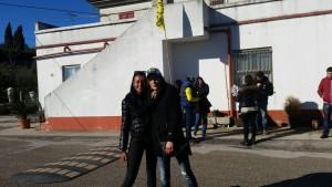 Manuela e Sonia, tifose di Valentino giunte da Como