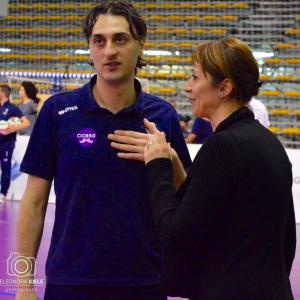 Matteo Bertini e la presidente Barbara Rossi (Foto Eleonora Ioele)