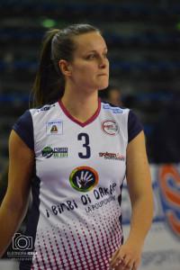 Monica Lestini, l'ex della partita, fotografata da Eleonora Ioele