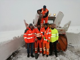 Gruppo pronto intervento Provincia con turbina
