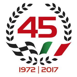 Il nuovo logo per il 45esimo compleanno