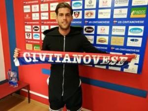 Matteo Lignani al suo arrivo a Civitanova in estate