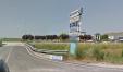 L'entrata dell'aeroporto di Fano (screenshot da Google Maps)