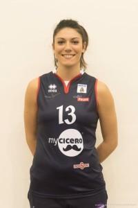 Viola Tonello, centrale genovese della myCicero