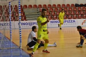 Il gol di Tres (Italservice PesaroFano)