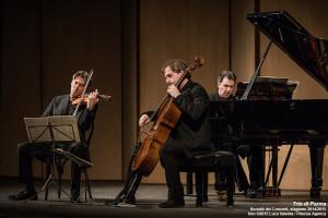 Trieste, 27/4/2015 - Politeama Rossetti - Trio di Parma - Alberto Miodini pianoforte - Ivan Rabaglia violino - Enrico Bronzi violoncello - Foto Luca Valenta/Phocus Agency © 2015