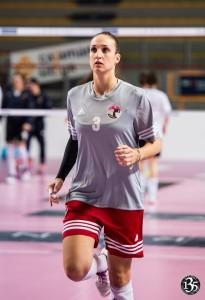Giada Boriassi, centrale carrarese ex Volley Pesaro (dalla pagina Facebook)