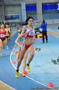 Eleonora Vandi nella gara di Ancona (Foto Fidal)