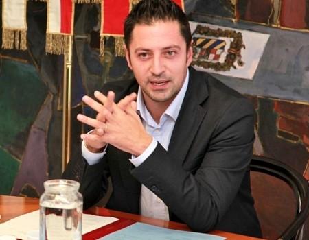 Il presidente della Provincia di Pesaro e Urbino Daniele Tagliolini