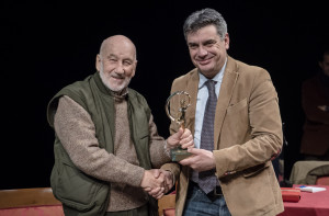 Gianni Berengo Gardini e il sindaco Massimo Seri