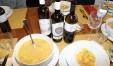 degustazione di legumi e vini abbinati