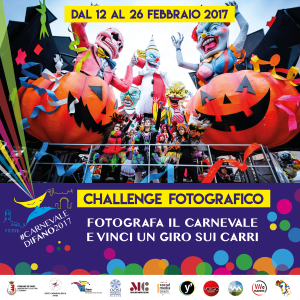 Locandina Challenge Carnevale di fano 2017