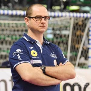 Riccardo Marchesi, coach del terzo scudetto pesarese (Foto Eleonora Ioele)