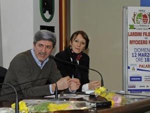 Giovanni Morresi e Barbara Rossi