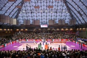 La finale della Coppa Italia di serie A1 della precedente stagione a Ravenna (Foto Rubin:LVF)