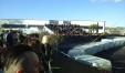 Panoramica di pubblico al Rally Drift Show