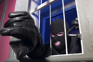 Un ladro in azione (foto tratta dal web)