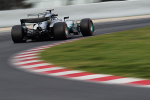 Valtteri Bottas (FIN) su Mercedes
