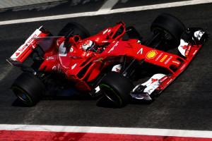 Raikkonen nei test di Barcellona