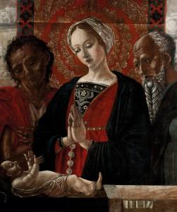Antonio da Crevalcore_Sacra famiglia - Mostra Rinascimento Segreto a Palazzo Mosca