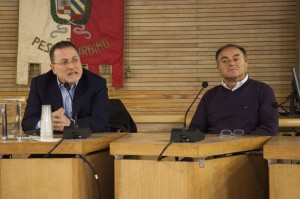 Da sinistra Antonio Nicaso e Nicola Gratteri